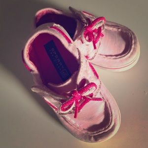 Baby Sperry Top Sider size 4